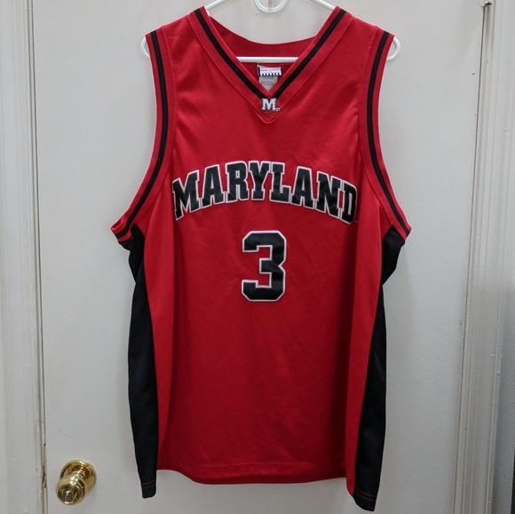 huge selection of b7dc4 2d3ee Maryland Basketball Jersey